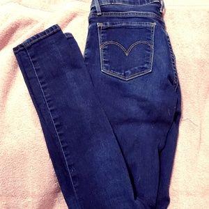 Levi's 711 skinny jeans
